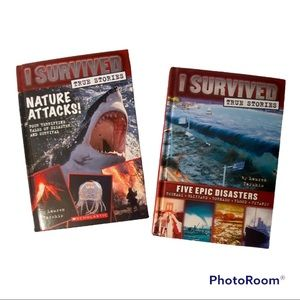 I SURVIVED Five Epic Disasters & Nature Attracts (SET)
